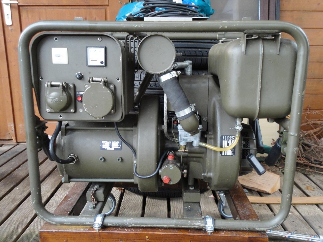 gebraucht diesel generator defekt