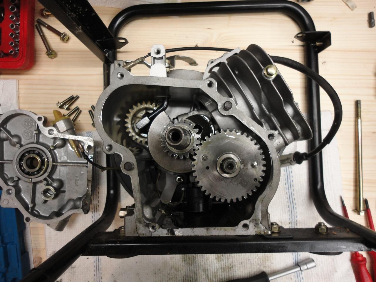 kleinen motor zum stromerzeugen